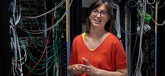 Cette image montre Anne Verhamme, lauréate du prix Marie Heim-Vögtlin 2019.