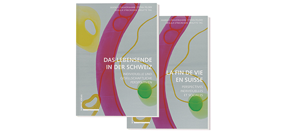 "This picture shows the book ""Das Lebensende in der Schweiz"""