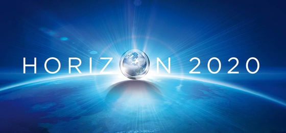 "A globe and the words ""Horizon 2020"". © Horizon 2020"