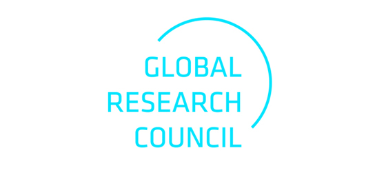 Cette image montre le logo du Global Research Council. © GRC