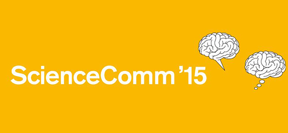 Logo von ScienceComm'15 © ScienceComm
