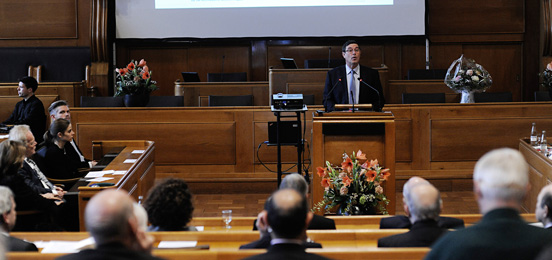 Mauro Dell'Ambrogio, State Secretary for Education, Research and Innovation.